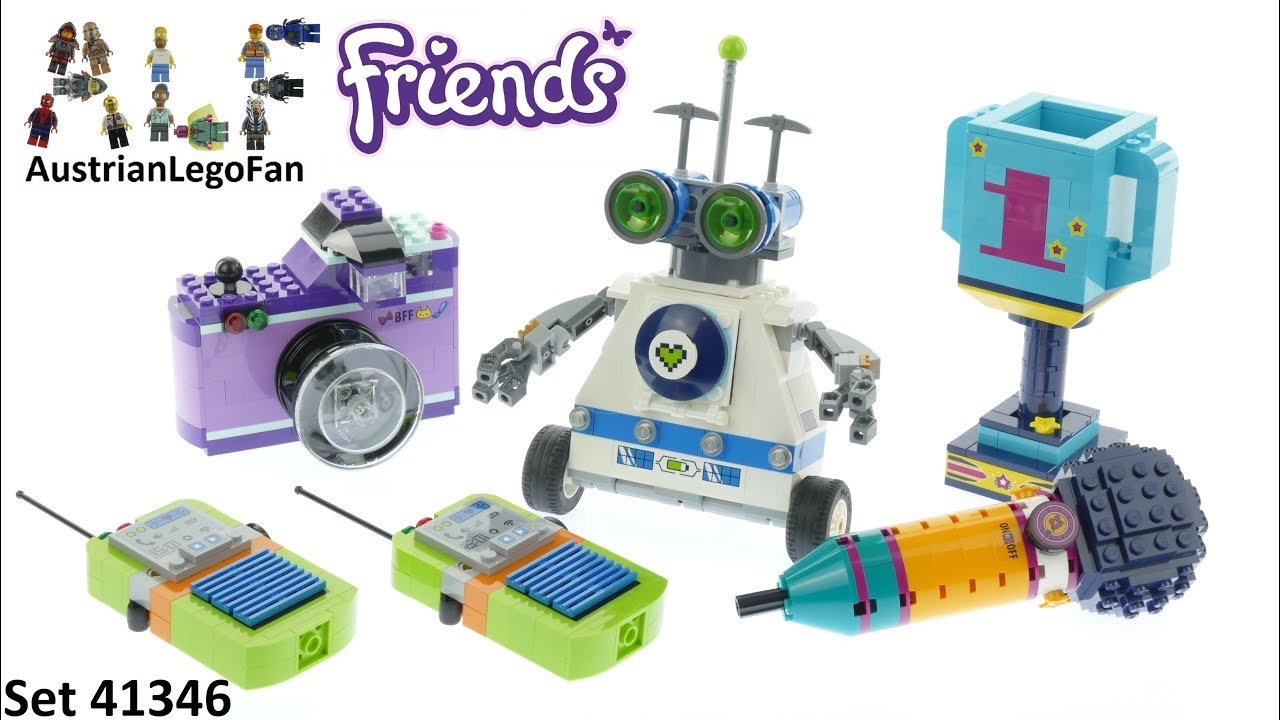 Lego Friends 41346 Friendship Box Lego Speed Build Review Youtube