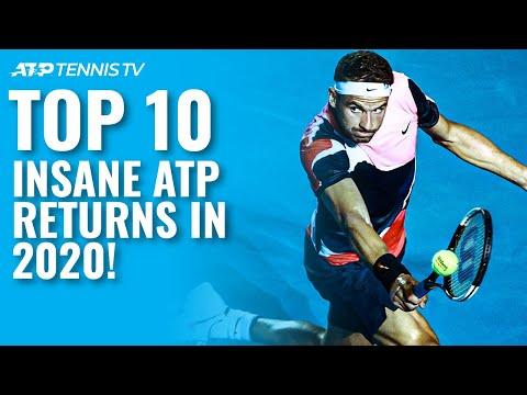 Top 10 Insane ATP Return Winners in 2020!