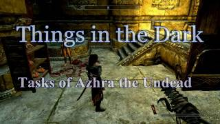 vuclip Skyrim Things in the Dark part 6 Tasks of Azhra the Undead Задания Ашры