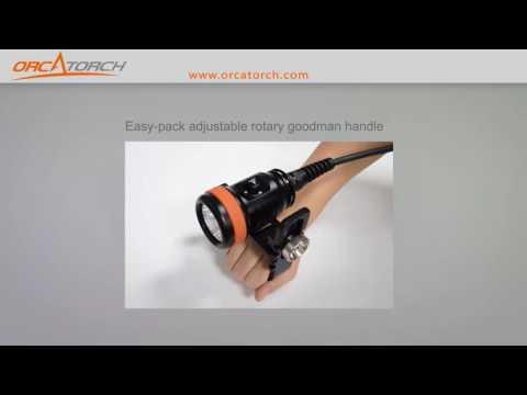 OrcaTorch D620 scuba diving canister light - Best Design Award 2016