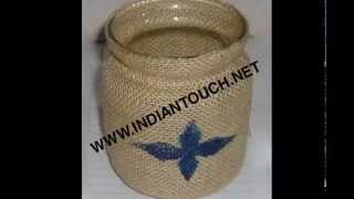 India Jute Items-indian Touch