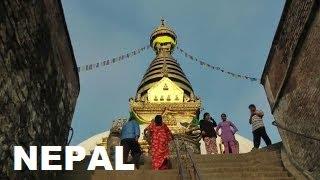 NEPAL 2 I Thamel Street I Jame Camii I Maymunlar Tapınağı I KATMANDU