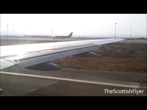 Thomson Airways 757-200 Departing Larnaca Cyprus