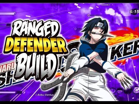 Ranged DEFENDER Build Naruto To Boruto: Shinobi Striker