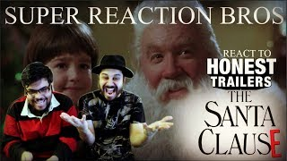 SRB Reacts to Honest Trailers - The Santa Clause!!!!