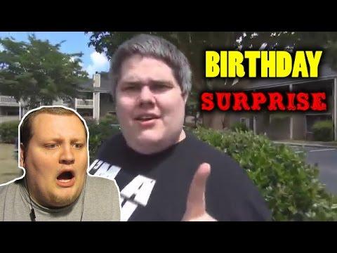 Pickleboy's Birthday Surprise! REACTION!!!