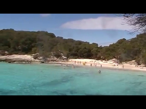 Menorca in early May: my favourite beach