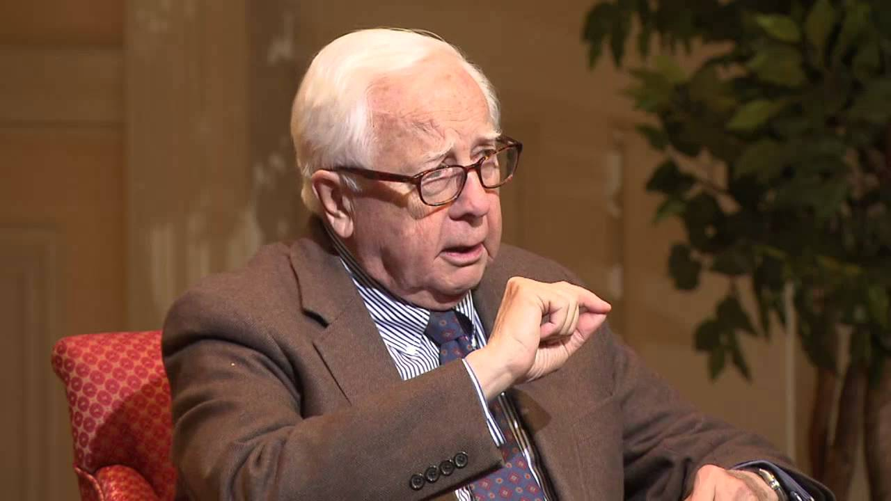 David McCullough on his book