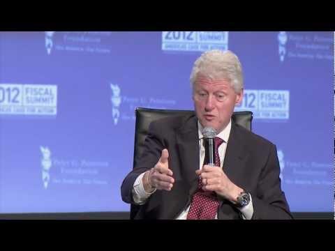 2012 Fiscal Summit: Tom Brokaw Interviews President Bill Clinton