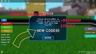 [Speed Simulator Roblox nouveaux codes!!] [Partie 2!!]