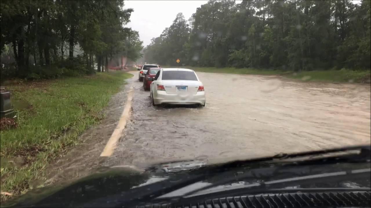 The Woodlands Texas Flooding >> The Woodlands Texas Flash Flood