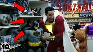 Top 10 Easter Eggs You Missed In The Shazam! Trailer