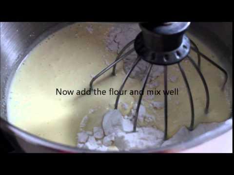 Sponge cake with vegetable oil recipe