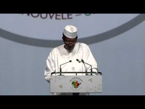 Opening Statement by H. E. Mr. Idriss Deby Into, President of the Republic of Chad