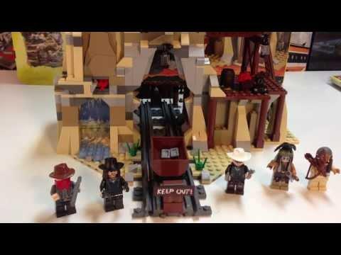 LEGO The Lone Ranger Set 79110 Silver Mine Shootout - Another Mine Train Set