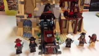 Lego The Lone Ranger set 79110 Silver Mine Shootout - another mine train set