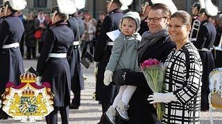 Kronprinsessans namnsdag firas på Kungliga slottet - 2014