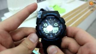 Видео-обзор и настройка часов G-Shock от DunkTime