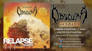 "OBSCURA - ""Sermon of the Seven Suns"" (Official Track)"