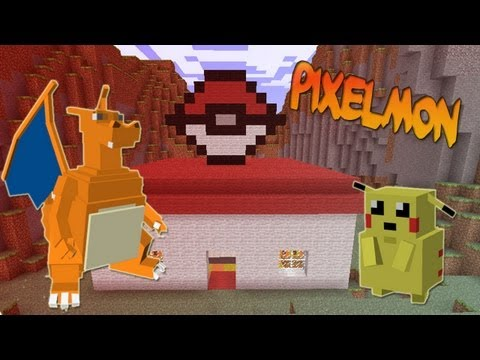 POKEMON EN MINECRAFT - Pixelmon Mod Travel Video
