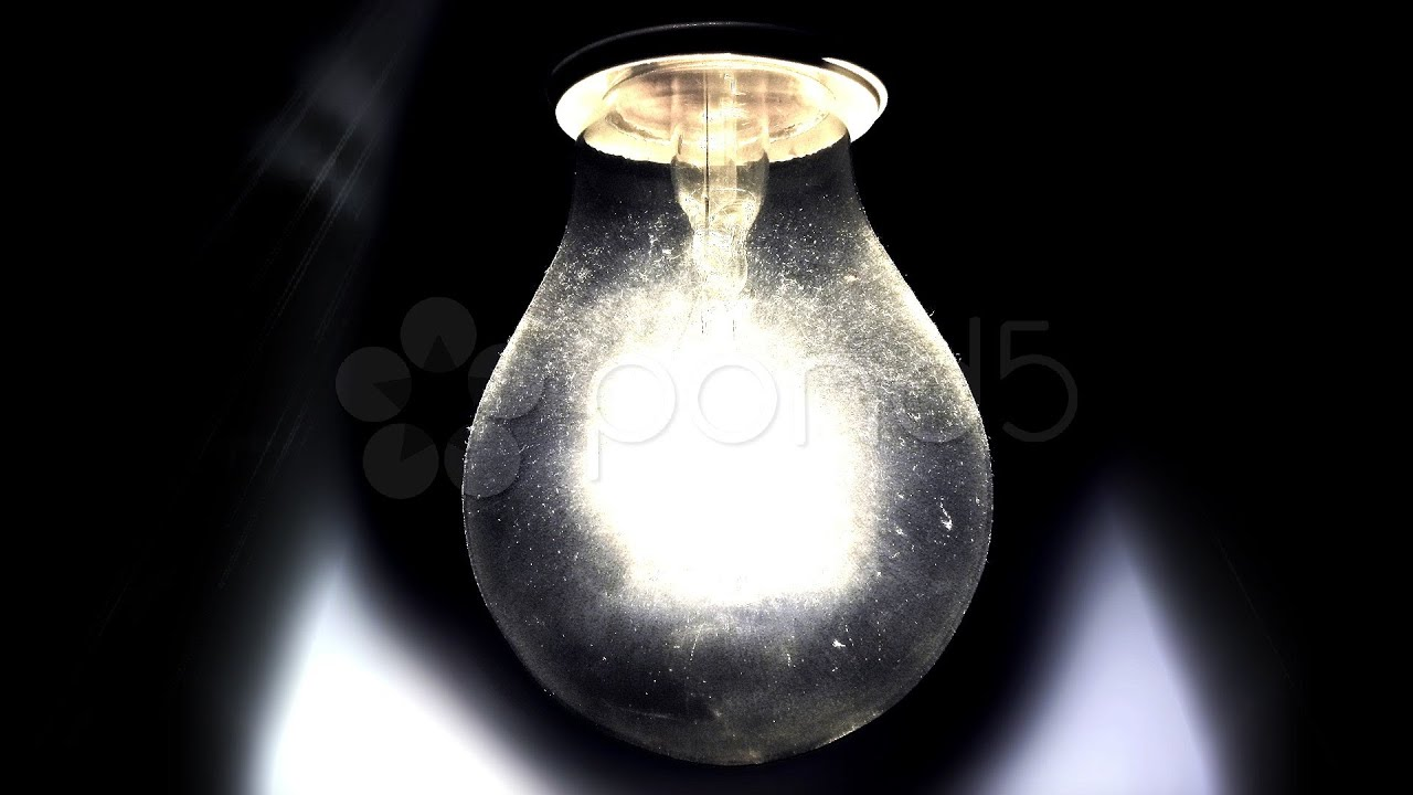 Flickering Light Bulbs Halloween