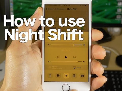 How-To: Set up and use Night Shift mode on iPhone and iPad [Video]