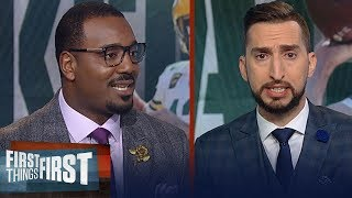 Packers loss to Chargers is inexcusable, talk Russell Wilson for MVP | NFL | FIRST THINGS FIRST