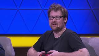 On Justin Roiland's Trover Saves the Universe and Squanch Games | E3 Coliseum 2019 Panel