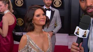 Maren Morris interview on the Red Carpet | Red Carpet | 60th GRAMMYs