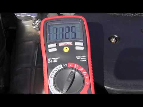 Mercedes engine speed sensor location testing youtube for Mercedes benz speed sensor location