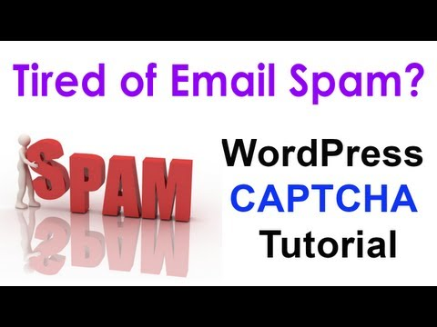 CAPTCHA Tutorial for WordPress