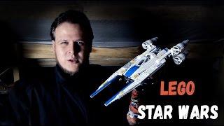ЛЕГО «Изгой-один: Звездные войны. Истории» Истребитель Повстанцев «U-WING» 75155 STAR WARS LEGO
