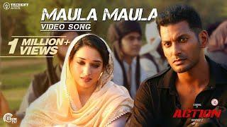 Action  Maula Maula Video Song Vishal Tamannaah  Hiphop Tamizha  SundarC