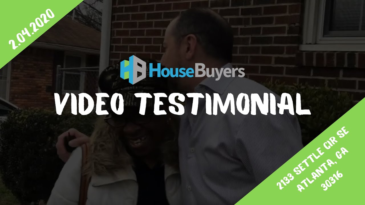 House Buyers | Seller Video Testimonial | 2.04.2020 | Atlanta, GA
