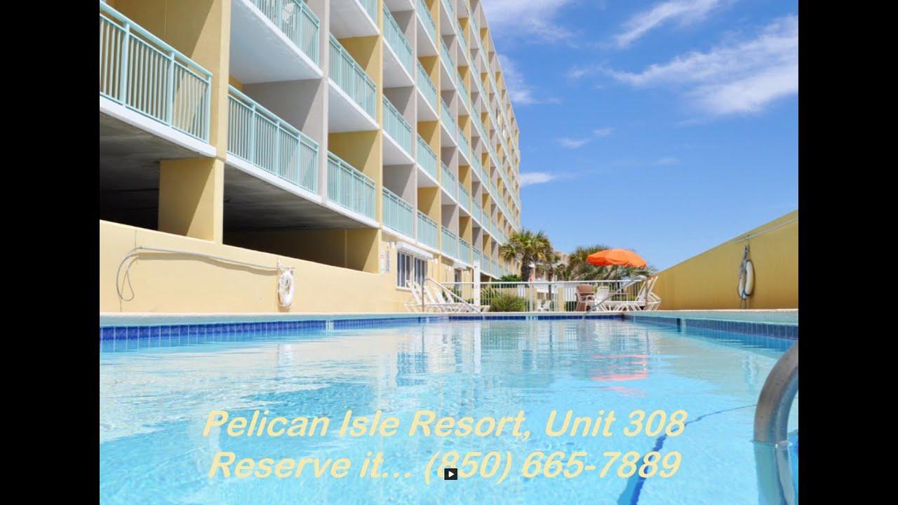 Pelican Isle Resort  Unit 308  Okaloosa Island Beach