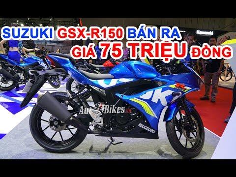 Suzuki GSX-R150 Về đại Lý, Giá Bán 75 Triệu đồng