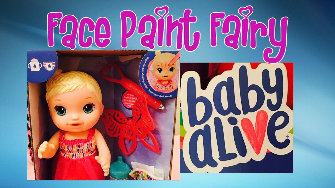 Baby Alive Face Paint Fairy Youtube