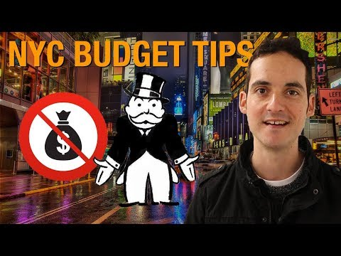 NYC BUDGET TIPS- How to Visit New York when you're BROKE !
