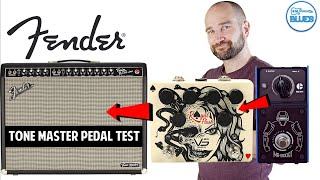 How does the Fender Twin Tone Master Take Pedals?