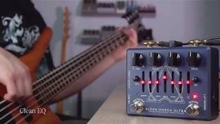 Darkglass Electronis Alpha Omega Ultra - Bass Demo