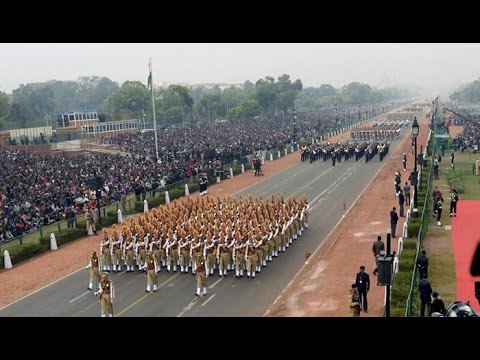 Full dress rehearsal of 68th Republic Day parade : NewspointTv