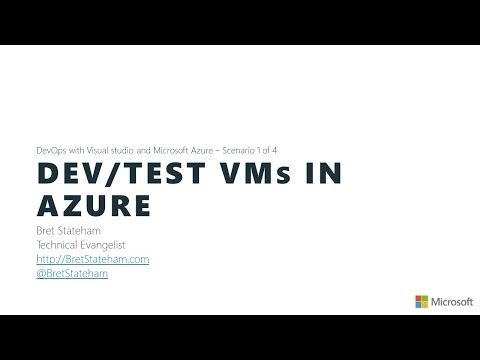 Azure DevOps with Visual Studio Online - Dev/Test VMs