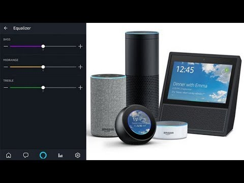 Amazon Echo now has an equalizer for audio enabled Alexa devices and all using their voice.