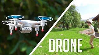 Un drone pas cher et à piloter avec son smartphone