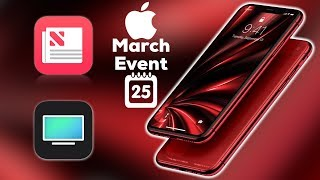 Red iPhone Xs Max at March Event? / Services Only & no hardware?