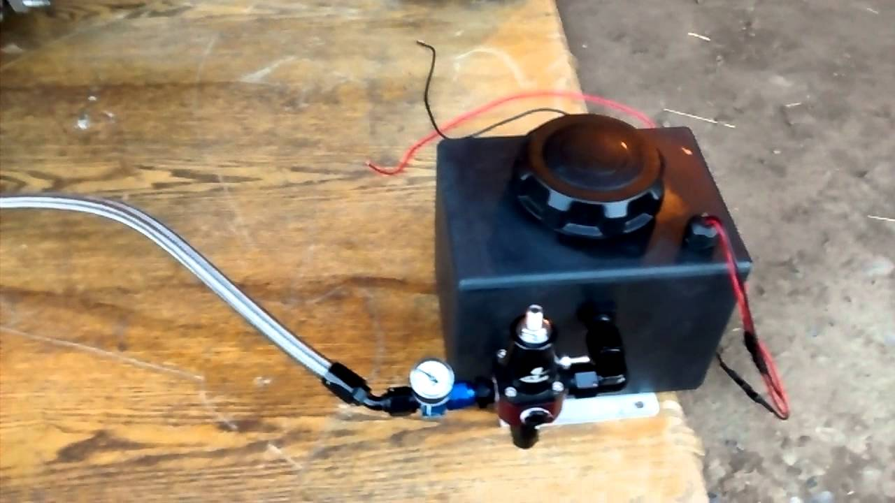 Nitrous outlet stand alone fuel system