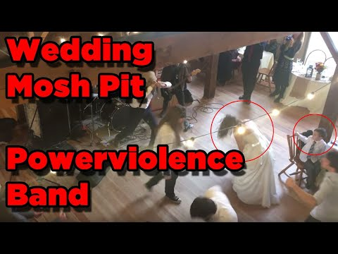 Mosh Pit Wedding Powerviolence Band Wound Man