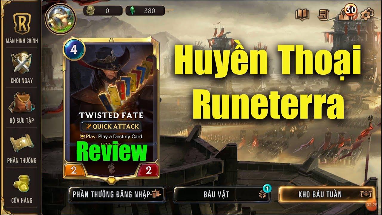 [Legend Of Runeterra] Review Game Thẻ Bài Huyền Thoại Runeterra Phiên Bản Việt Hóa Cực Kì Xịn Xò =))