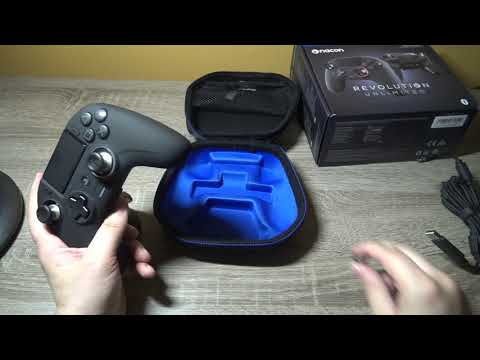 Nacon Revolution Unlimited Pro Controller PS4: Test Video Review FR HD (N-Gamz)