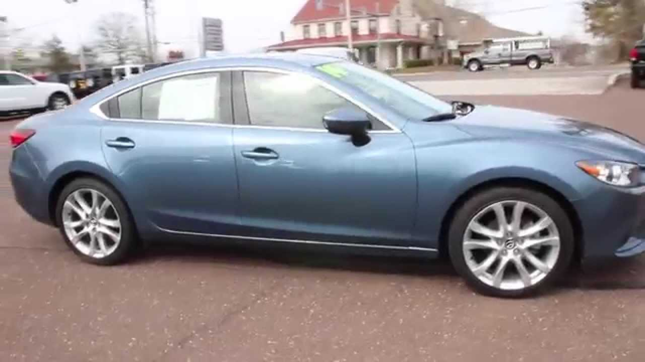 2014 mazda mazda6 i touring sedan used car dealer limerick pa youtube. Black Bedroom Furniture Sets. Home Design Ideas